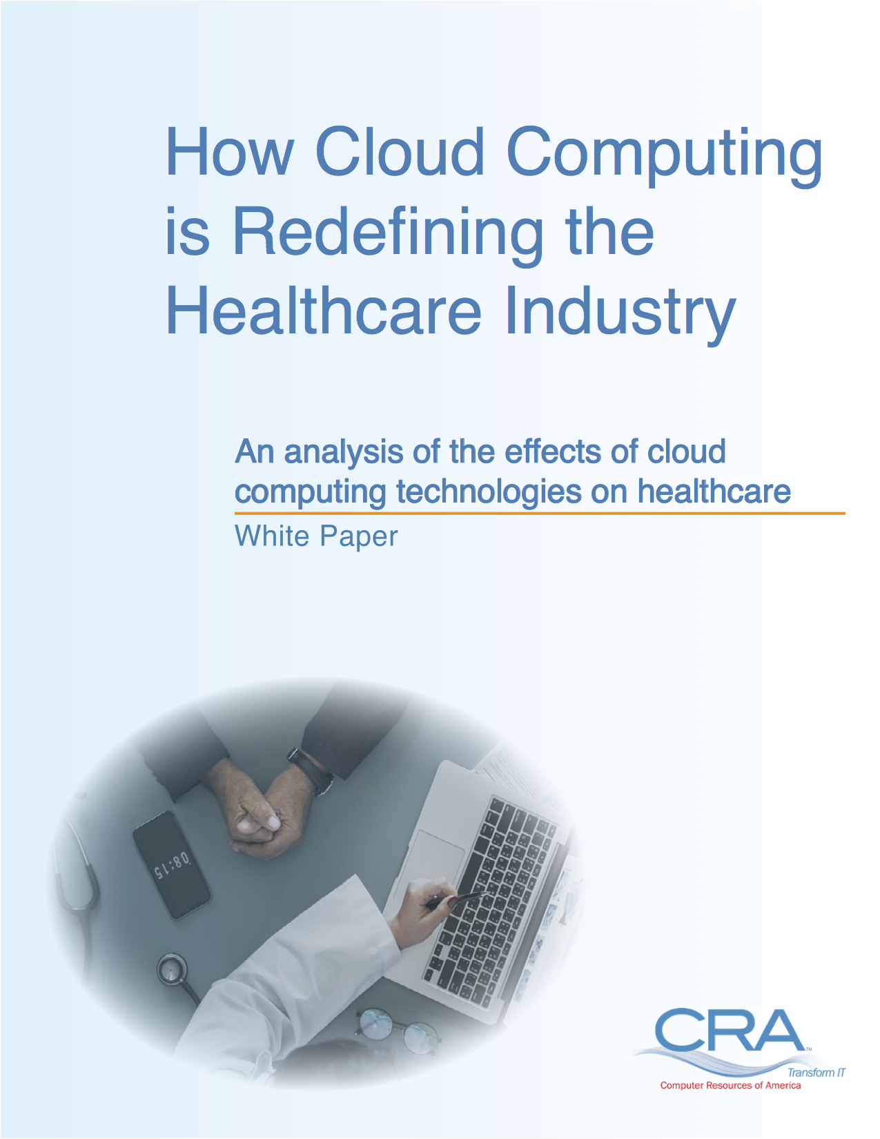 how cloud computing effects healthcare