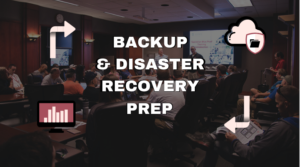 continuity backup and disaster